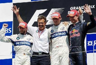 Primera victoria de Kubica