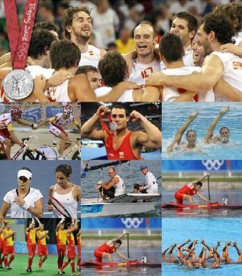 Pekín 2.008 - Medallas de plata