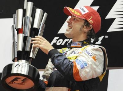 """Gran victoria de Alonso (""""El safety car"""")"""