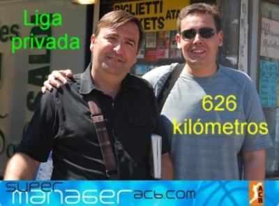 LP 626 kilómetros 09/10 - Jornada 8
